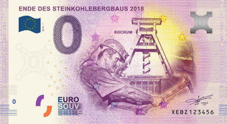 Saksa 0 euro 2018 Ende des Steinkohlebergbaus