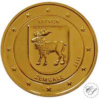 Latvia 2 € 2018 Zemgale kullattu
