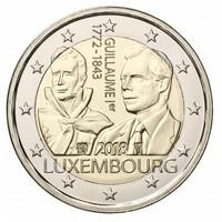 Luxemburg 2 € 2018 Guillaume I