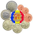 Andorra 1s- 2 € 2014-2019 UNC