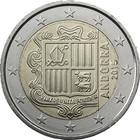 Andorra 2 € 2017 Vaakuna UNC