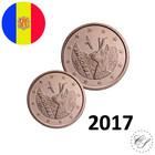 Andorra 1s & 2s 2017 UNC