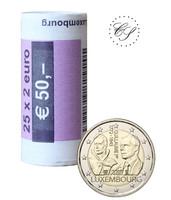 Luxemburg 2 € 2018 Guillaume I, rulla
