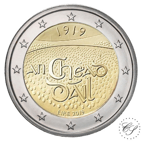 Irlanti 2 € 2019 Dáil Éireann