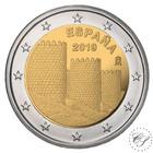 Espanja 2 € 2019 Ávilan kehämuuri