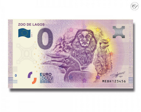 Portugali 0 euro 2018 Zoo de Lagos UNC