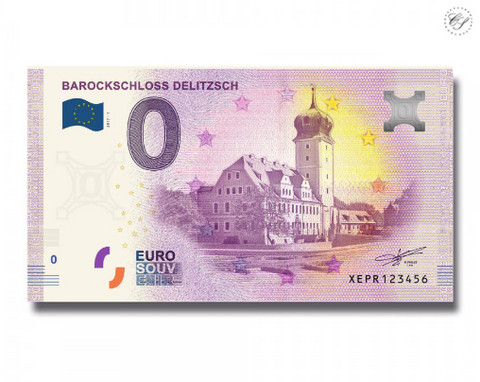 Saksa 0 euro 2018 Delitzschin barokkilinna UNC
