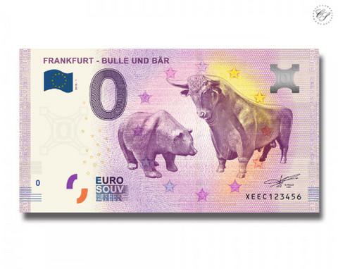 Saksa 0 euro 2018 Bulle & Bär Frankfurt UNC