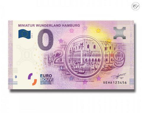 Saksa 0 euro 2018 Mini-Ihmemaa BR 194 UNC