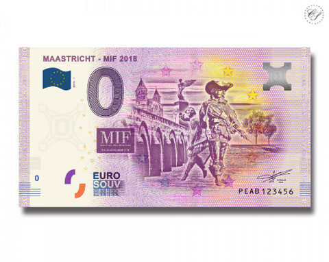 Alankomaat 0 euro 2018 Maastricht MIF UNC