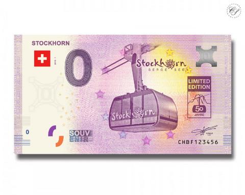 Sveitsi 0 euro 2018 Stockhorn UNC