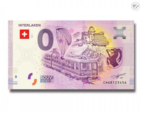 Sveitsi 0 euro 2018 Interlaken UNC