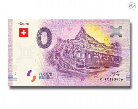 Sveitsi 0 euro 2018 Täsch UNC