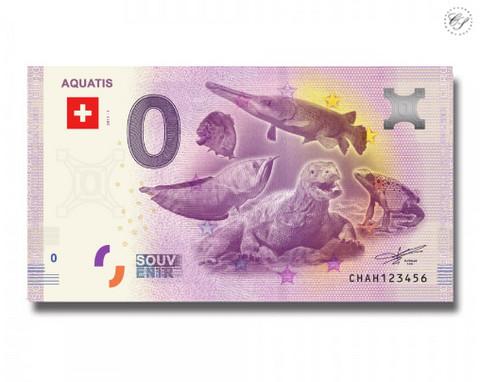 Sveitsi 0 euro 2018 Aquatis UNC