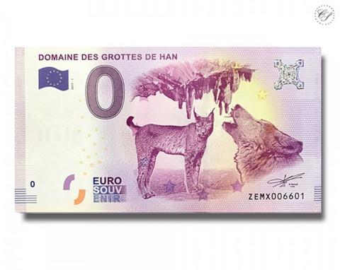 Belgia 0 euro 2018 Grotte de Han UNC