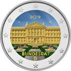 Saksa 2 € 2019 Bundesrat 70 vuotta, väritetty