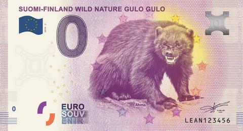 Suomi 0 euro 2019 Villi luonto - Ahmaseteli
