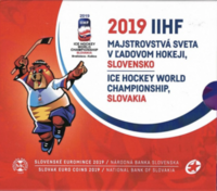 Slovakia 2019 BU rahasarja Jääkiekon MM-kisat