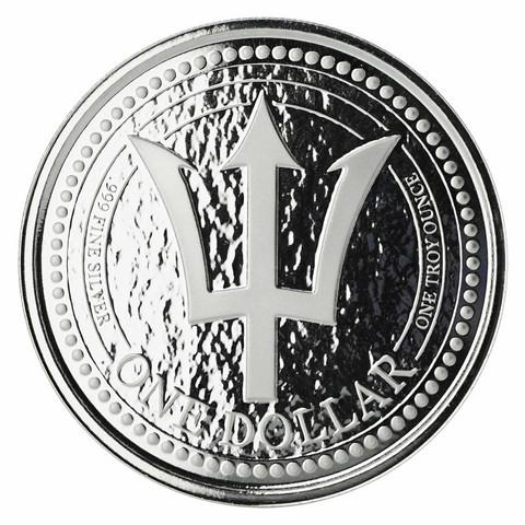 Barbados 1 $ 2018 Trident 1oz HOPEA