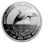 Australia 1 $ 2019 Delfiini 1oz hopearaha