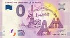 Ranska 0 euro 2019 Eiffel-torni & Pariisin maailmannäyttely 1889