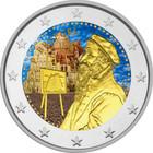 Belgia 2 € 2019 Pieter Brugel BU väritetty