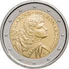 San Marino 2 € 2019 Leonardo da Vinci 500 v. BU
