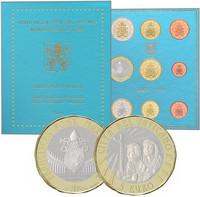 Vatikaani 2019 MMXIX 8,88 € BU rahasarja