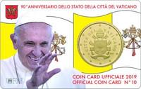 Vatikaani 50s 2019 coincard
