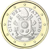 Vatikaani 1 € 2019 Vatikaanin vaakuna BU