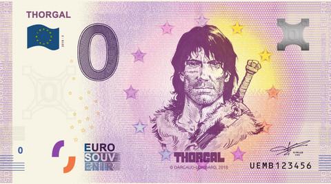 Ranska 0 euro 2019 Thorgal-sarjakuva