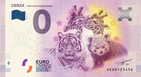 Ranska 0 euro 2019 Cerza II eläinseteli