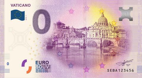 Vatikaani 0 euro 2019 Vaticano UNC