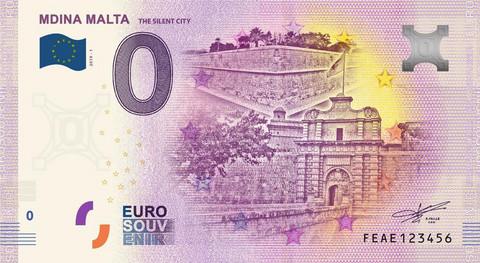 Malta 0 euro 2019 Mdina UNC
