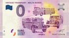 Malta 0 euro 2019 Vintage-matkustus