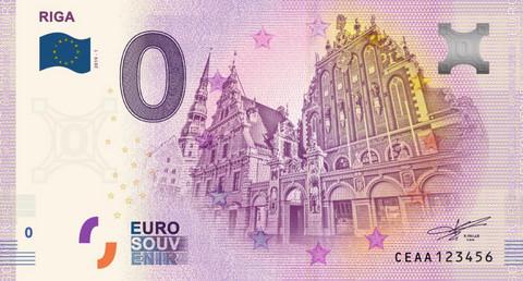 Latvia 0 euro 2019 Pääkaupunki Riika UNC