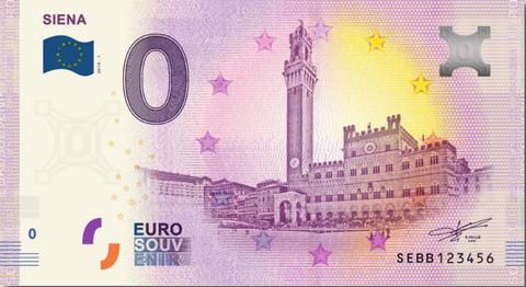 Italia 0 euro 2019 Siena UNC