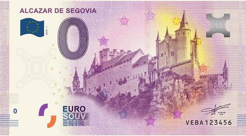Espanja 0 euro 2019 Alcazar de Segovia UNC