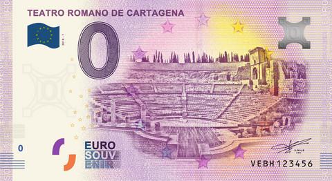 Espanja 0 euro 2019 Teatro Romano de Cartagena UNC
