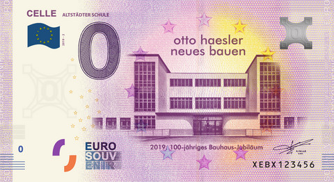 Saksa 0 euro 2019 Celle - Alstädter Schule UNC