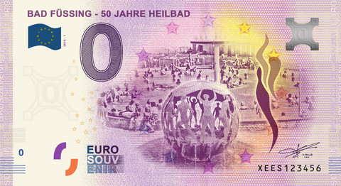 Saksa 0 euro 2019 Bad Füssing UNC