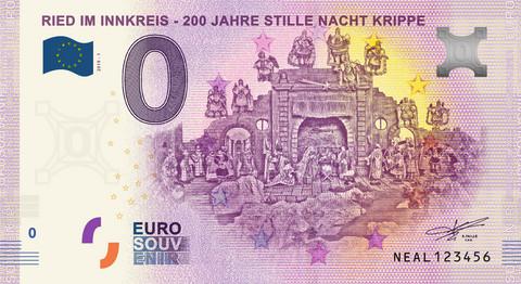 Itävalta 0 euro 2019 Ried im Innkreis UNC