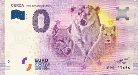 Ranska 0 € 2018 Cerza-eläinseteli UNC