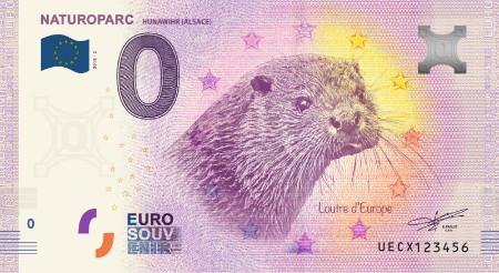 Ranska 0€ 2018 Saukkoseteli Naturoparc UNC