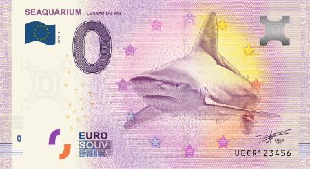 Ranska 0€ 2018 Haiseteli Seaquarium UNC