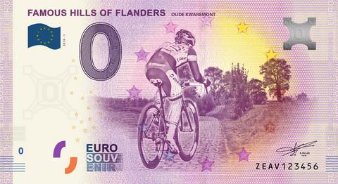 Belgia 0€ 2019 Famous Hills of Flanders UNC