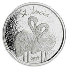 St. Lucia 2018 Flamingo 1oz hoperaha