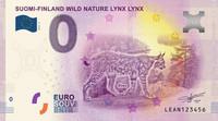 Suomi 0 euro 2019 Villi luonto - Ilves-seteli