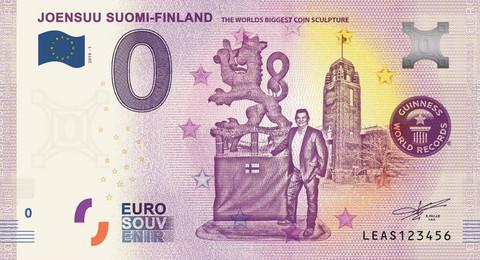 Suomi 0 euro 2019 Joensuu - Kolikkopatsas UNC