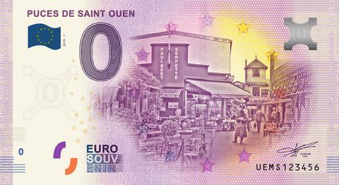 Ranska 0 euro 2019 Puces de Saint Ouen UNC